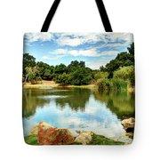 Lake Lucky Tote Bag