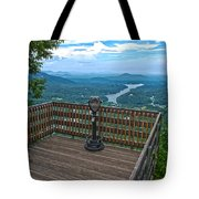Lake Lure Overlook Tote Bag