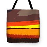Lake Macatawa Sunset Tote Bag
