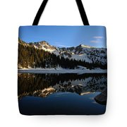 Lake Mary Brighton Utah Tote Bag