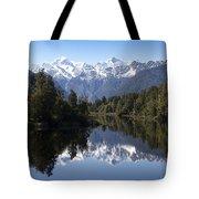 Lake Matheson New Zealand Tote Bag