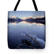 Lake Mcdonald Winter Tote Bag