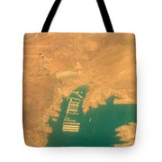 Lake Mead From The Air Tote Bag
