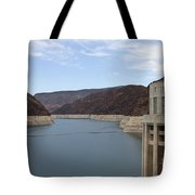 Lake Mead Seen From The Hoover Dam Tote Bag