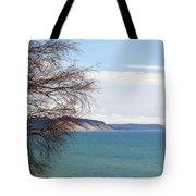 Lake Michigan Bluffs Tote Bag