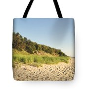 Lake Michigan Dunes 02 Tote Bag