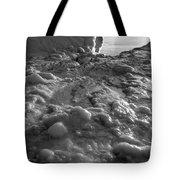 Lake Michigan Ice Xii Tote Bag