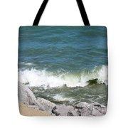 Lake Michigan Shore Tote Bag