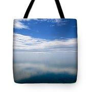 Lake Michigan's Lost Horizon Tote Bag