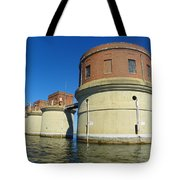 Lake Murray Sc Dam Tote Bag