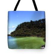 Lake Ngakoro Rotorua New Zealand Tote Bag