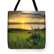 Lake Oahe Sunset Tote Bag