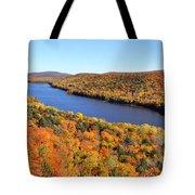 Lake Of The Clouds Tote Bag