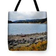 Lake On The Grand Mesa Colorado Tote Bag