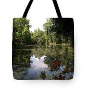 Lake On The Plantation Tote Bag