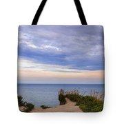 Lake Ontario At Scarborough Bluffs Tote Bag