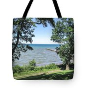 Lake Ontario At Webster Park Tote Bag