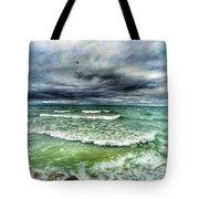 Lake Ontario Waves Tote Bag