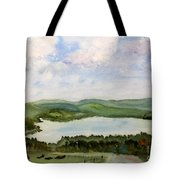 Lake Parker In Glover Tote Bag