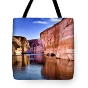Lake Powell Antelope Canyon Tote Bag