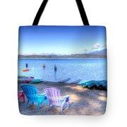 Lake Quinault Dream Tote Bag by Heidi Smith