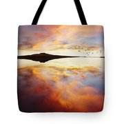 Lake Reflections Tote Bag