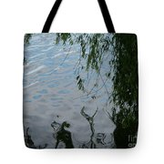 Lake Reflections Of Blue Tote Bag
