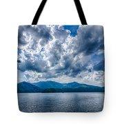 Lake Santeetlah In Great Smoky Mountains Nc Tote Bag