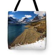 Lake Sherburne Tote Bag