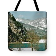 Lake Side Living Tote Bag