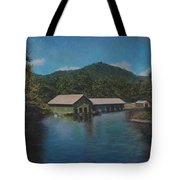 Lake Squam Off Rte. 3 In Holderness Nh Tote Bag