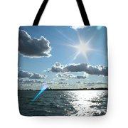 Lake St. Clair Sunset Tote Bag