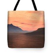 Lake Sunset 1 Tote Bag