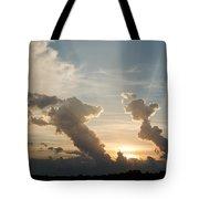 Lake Sunset 10 Tote Bag