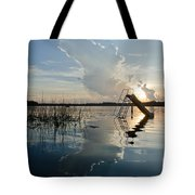Lake Sunset 5 Tote Bag