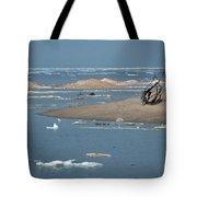 Lake Superior And Ice Tote Bag