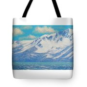 Lake Tahoe After The Storm Triptych Tote Bag