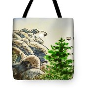 Lake Tahoe - California Sketchbook Project Tote Bag