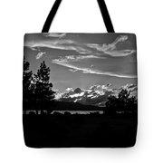 Lake Tahoe Just After Sunset Tote Bag