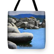 Lake Tahoe Rocky Cove Tote Bag