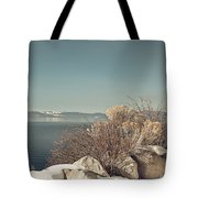 Lake Tahoe Winter Tote Bag