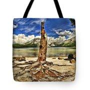 Lake Tenaya Giant Stump Tote Bag