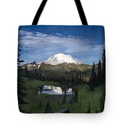 Lake Tipsoo Reflections Tote Bag
