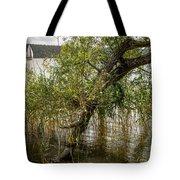Lake Tree Tote Bag