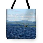 Lake Umbagog Choppy Waters Tote Bag