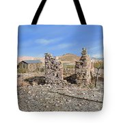 Lake Valley-new Mexico  Tote Bag