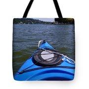 Lake View From Kayak Tote Bag