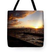 Lake Waconia Sunset Tote Bag
