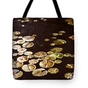 Lake Washington Lily Pad 10 Tote Bag