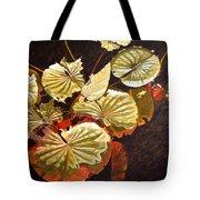 Lake Washington Lily Pad 11 Tote Bag